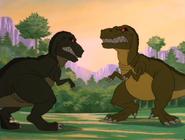 T-rex vs T-rex