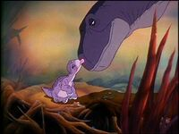 Littlefoot's hatched