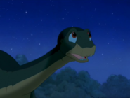 Littlefoot remembers what his Grandpa said