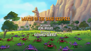 March of the Sand Creepers title