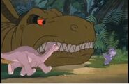 Chomper tripped his mother