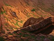 Orange-Brown Sharptooth still unconscious