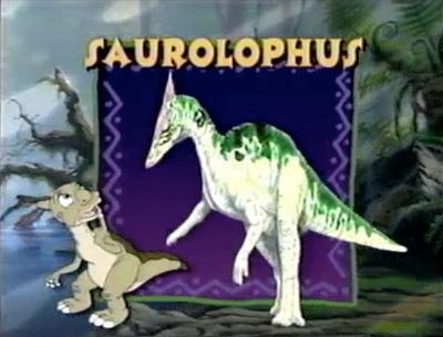 Ducky Is a Saurolophus
