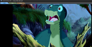 The scared Littlefoot 2