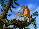 Sharptooth Flyer Family (The Mysterious Island)
