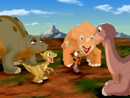 Littlefoot's sing the song Bestest Friends for him