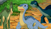 Littlefoot, Shorty, and Dayo
