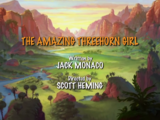 The Amazing Threehorn Girl