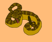 Snake drawing style B