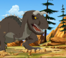 Horned Sharptooth (Journey of the Brave)