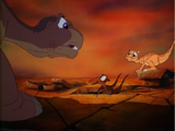 List of Animation Errors in The Land Before Time