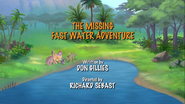 The Missing Fast-Water Adventure