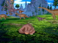 Tiny Brachiosaurus