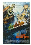 The Land Before Time Original Poster Development Art
