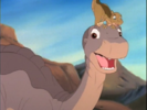 59-Littlefoot with Ducky on his head