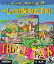 The Land Before Time 3-Pack Games