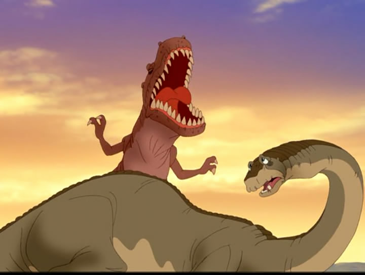 One Of The Sequels However Has Several Kinds Long Neck Congregating Together Including A Eo From An Amargasaurus