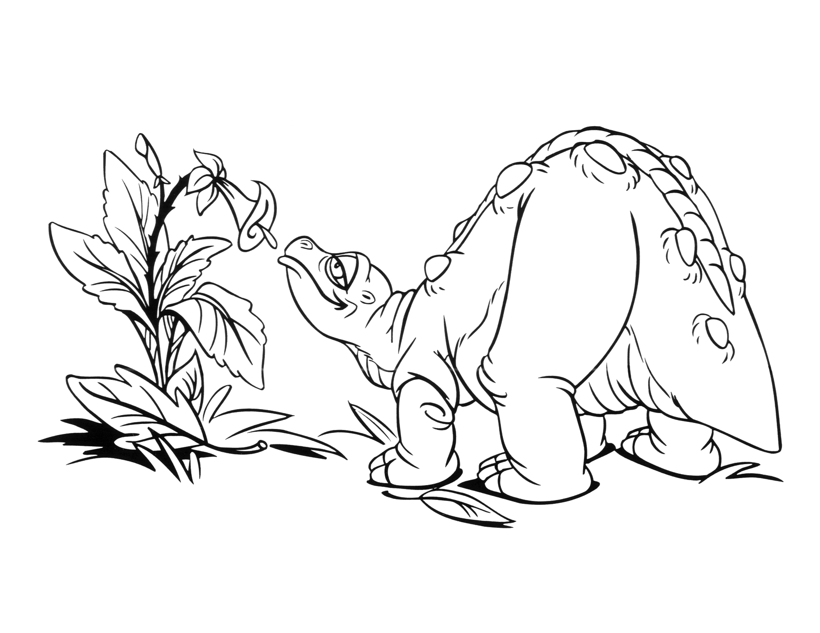 image coloring page 1 movie 9 png land before time wiki