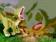 Ducky and Spike Crying