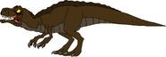 My interpretation of an LBT acrocanthosaur
