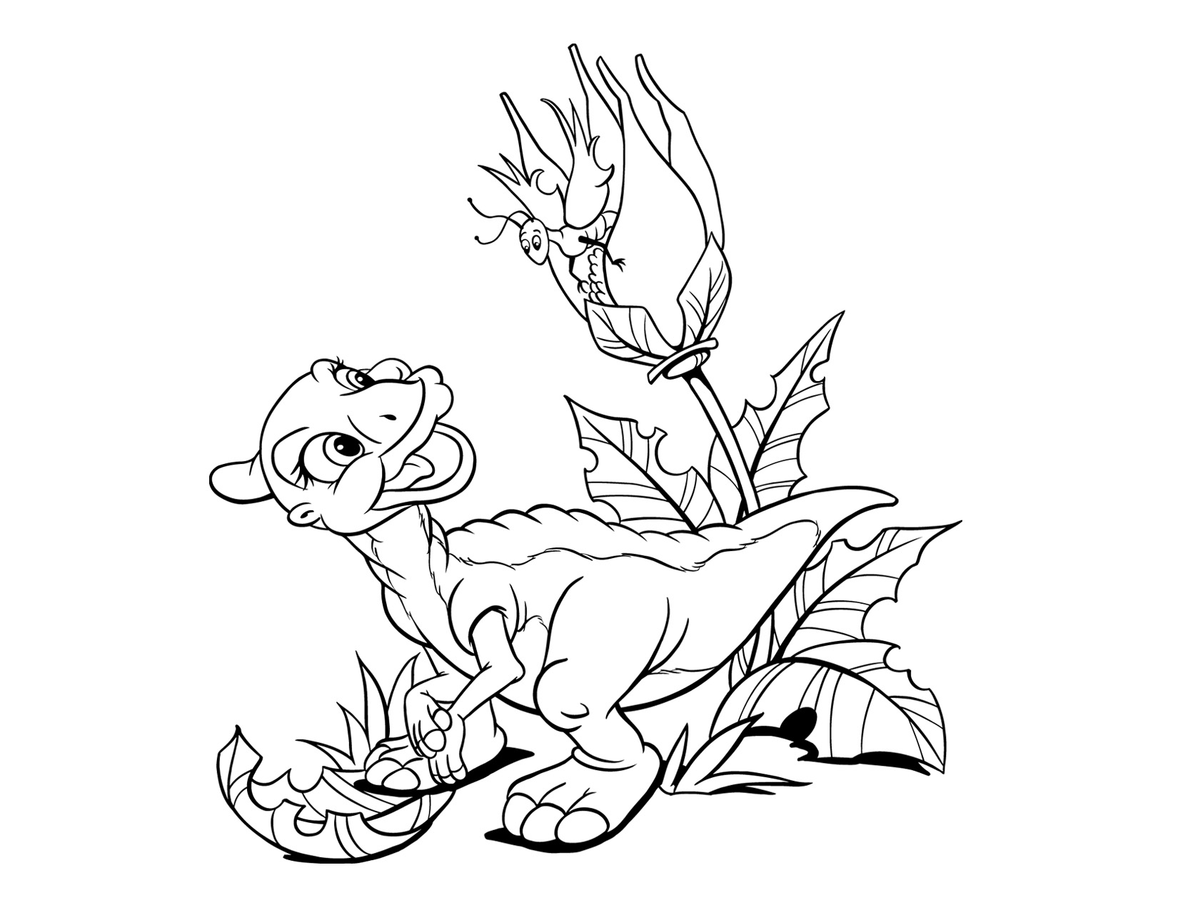 Image - Coloring Page 3 movie 6.png | Land Before Time Wiki | FANDOM ...
