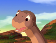 Littlefoot tells his friends about his father