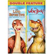 The Land Before Time and We're Back! A Dinosaurs Story DVD