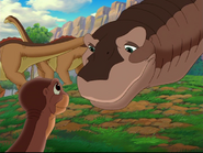 Littlefoot and Bron