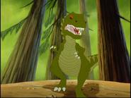 Plates the Giganotosaurus
