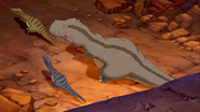 Sharpteeth from above