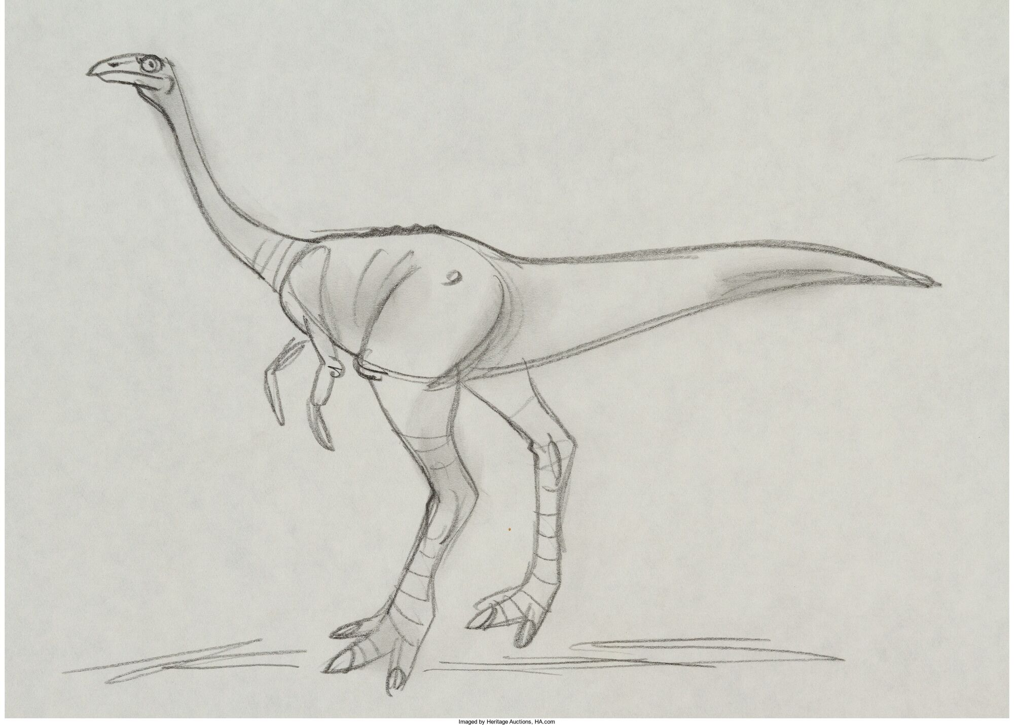 Image - The Land Before Time Egg Stealers Concept Drawing Group 2 of ...