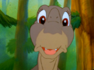 Littlefoot singing the song ''Big Water''