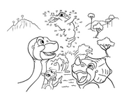 Coloring page 3 movie 9