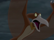 The Flyer in the opening scene of The Land Before Time IX