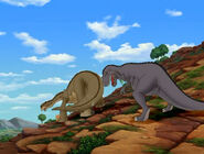 Tail-dragging Cool Gray Sharptooth