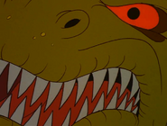 Scary Female Sharptooth face