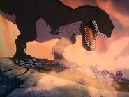 Tyrannosaurus growling