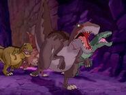 Yellow T. rex in LBT XIII