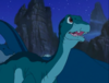 14-Littlefoot tells his grandparents about the flying rock he just saw