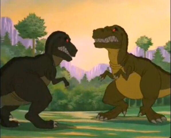File:T-rex vs T-rex.jpg