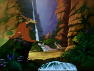 Pteranos splinter herd enters a nice valley