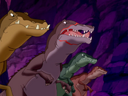 Baryonyx in canyon