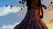 Fire Mountain erupting