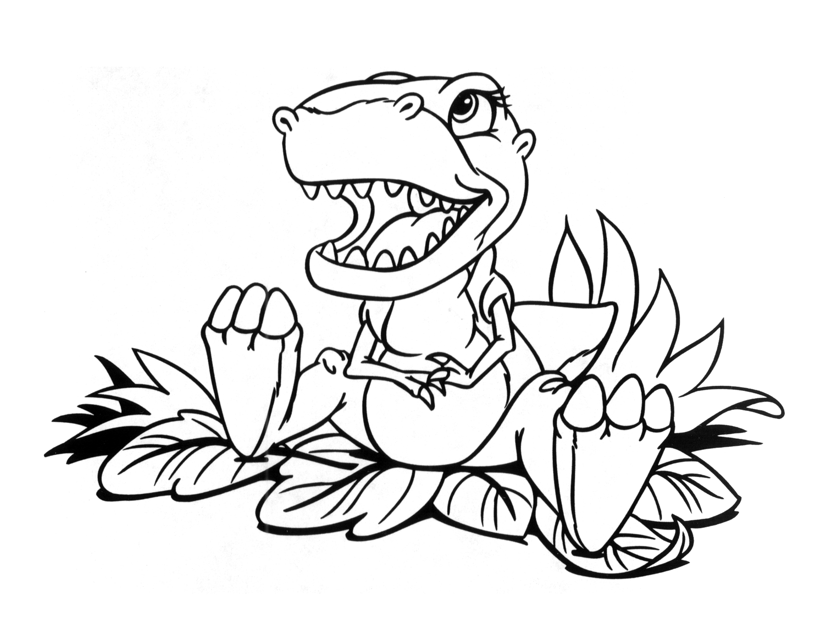 Image - Coloring page 3 movie 3.png | Land Before Time Wiki | FANDOM ...