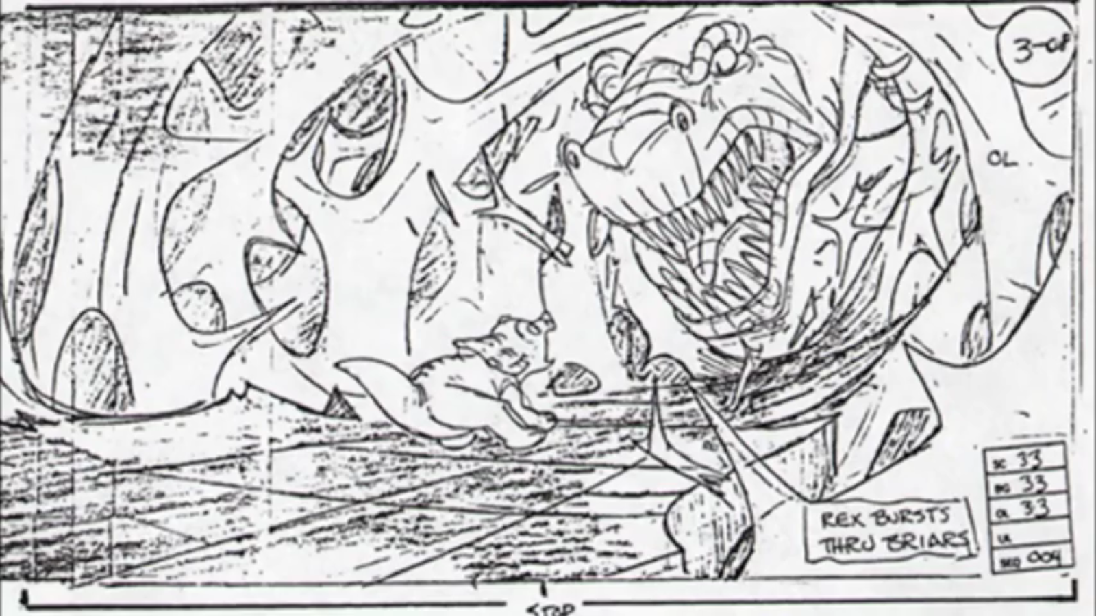 Image - Sharptooth Storyboard 18.png | Land Before Time Wiki ...