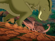 Thrasher and Littlefoot
