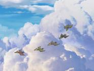 Sharptooth flyer babies