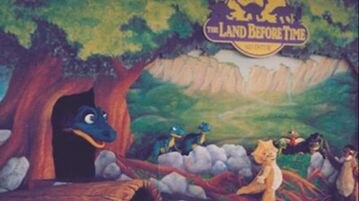 Universal Studios The Land Before Time Live Show