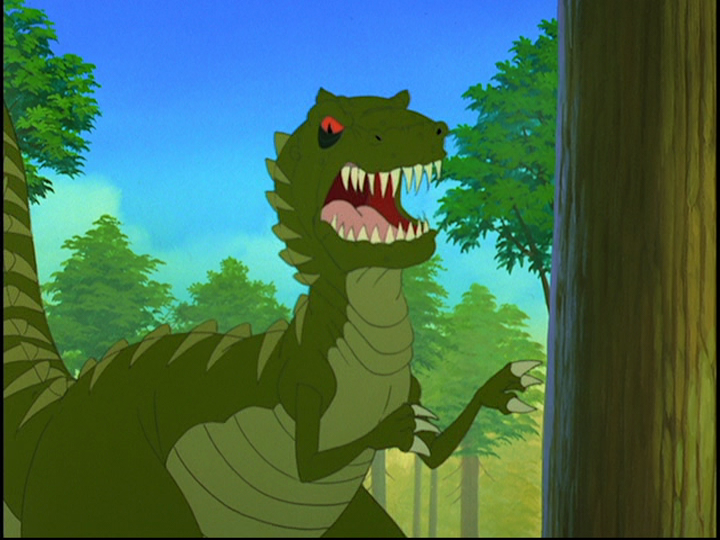 Plated Sharptooth (The Mysterious Island) | Land Before Time Wiki