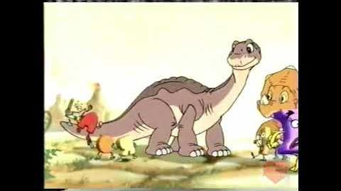 Alpha-Bits Cereal Television Commercial 2000 The Land Before Time